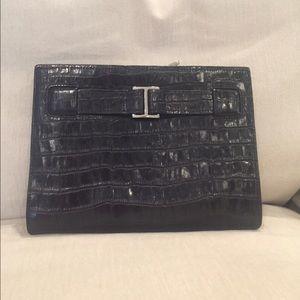 Abas Handbags - Awesome black clutch