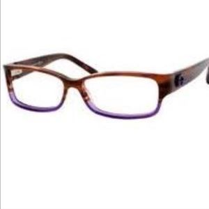 Gucci Accessories - Gucci 3152 Eyeglasses 0Run Havanna Burgundy/Violet