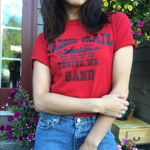 Urban Outfitters Tops - 💥LAST CHANCE💥 Vintage Red Graphic Tee