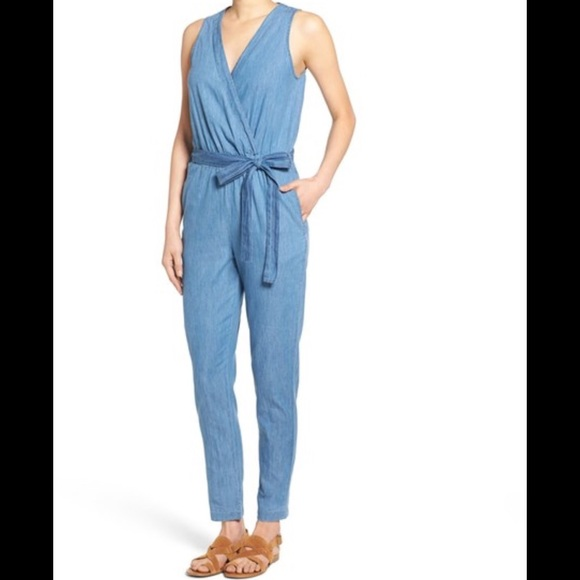 03de8ecd0e57 Mimi Chica Denim Jumpsuit. Brand New.
