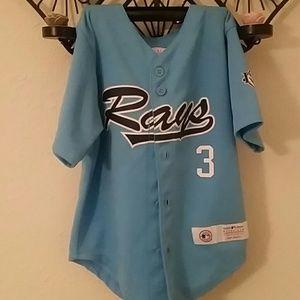 Toddlers Rays baseball jersey