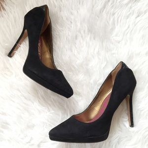Sam Edelman suede pumps