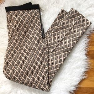 Forever 21 Pants - F21 tapered patterned pants
