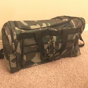 Other - Camo Duffle Bag