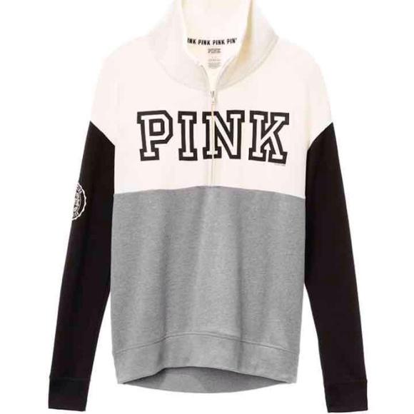 PINK Victoria's Secret - Nip XS vs pink quarter zip up pullover ...