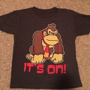 "Boys Donkey Kong ""It's On!"" Tee"