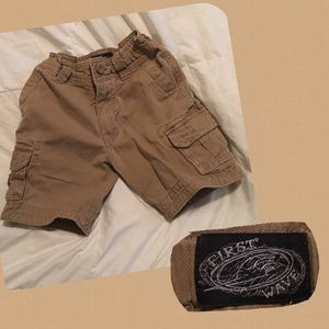 First Wave Other - Boys 4T cargo shorts