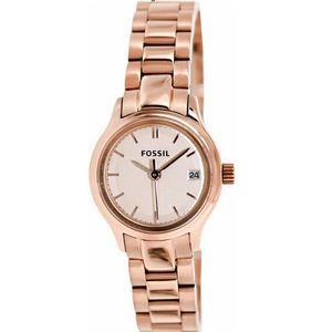 Rose Gold Fossil Watch (NWT) with gift box