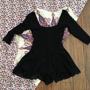 Urban Outfitters Lace Romper