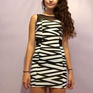 Striped cutout dress!