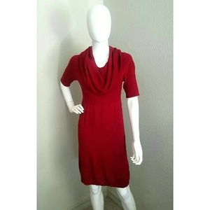 Sophie Max Dresses & Skirts - Red Sweater Dress