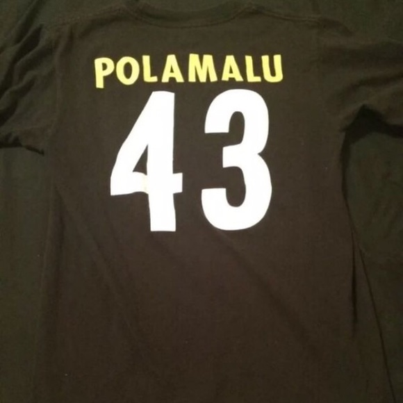 Wholesale Reebok Shirts | Troy Polamalu Pittsburgh Steelers Shirt Small | Poshmark  for cheap