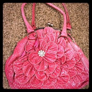 embellished pink purse