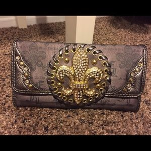 embellished wallet
