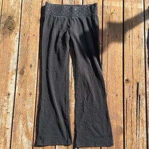 Express Yoga Pants Size M with Rhinestones!
