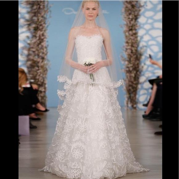 Oscar De La Renta Dresses Flash Sale Bridal Gown Poshmark