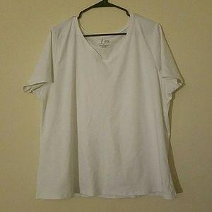 Short sleeve basic white Thirteen by Venezia