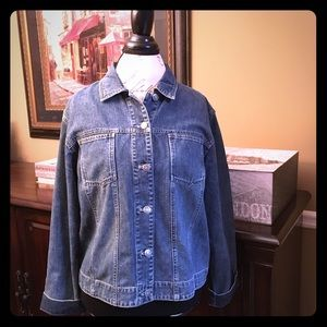 Chico's Jackets & Blazers - Chico's Jean Jacket, Size 2 (Fits a Large/12)
