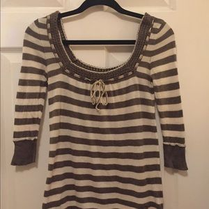 Abercrombie & Fitch 3/4 sleeve sweater