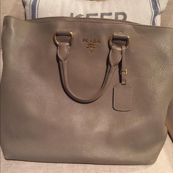 Prada Bags   Vitello North South Tote Bag Purse   Poshmark 0bb9192db3