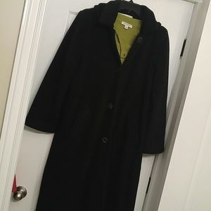 Kristen Blake Jackets & Blazers - Wool blend long trench with detachable hood.