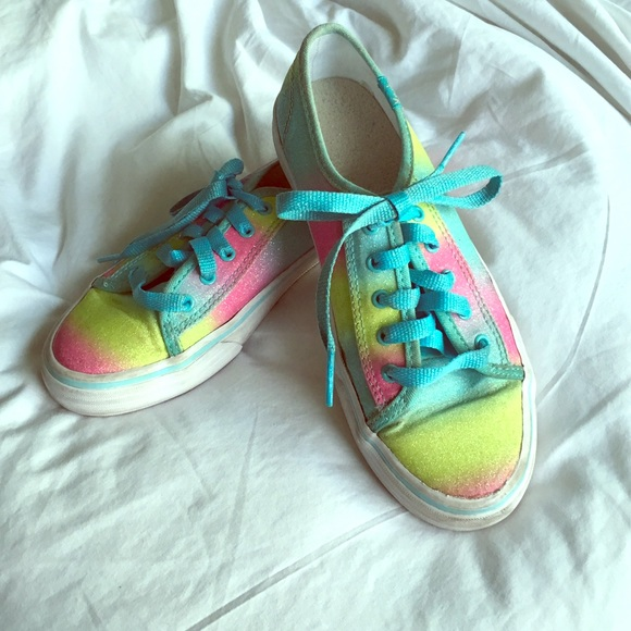 keds double up sneakers glitter