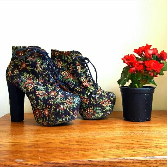 Jeffrey Campbell Women S Fall Tapestry Shoes