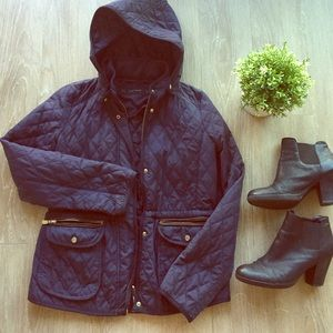Quilted Zara jacket!