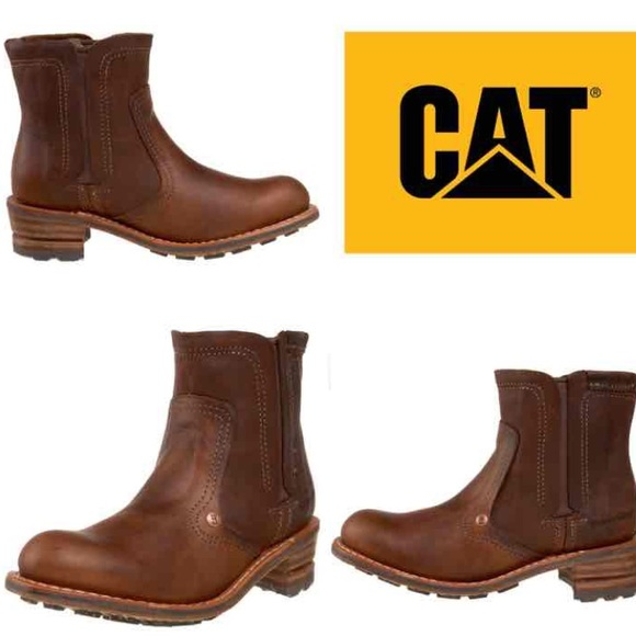 437570d17d182 Caterpillar Shoes - Women's leather Caterpillar Jodie Boots