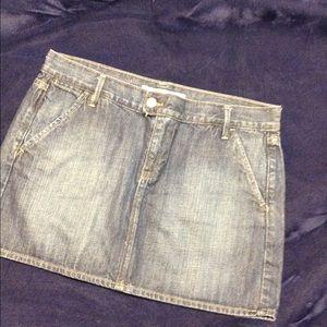 Jean mini skirt- CLEARANCE!!