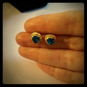 Jewelry - 14kt yellow gold and topaz earrings