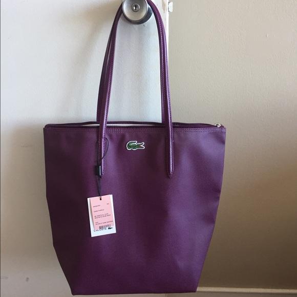 2423cee690a Lacoste Handbags - Lacoste Concept Vertical Tote Bag