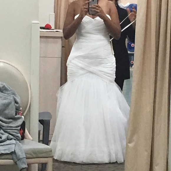 6c01167915c David s Bridal Dresses   Skirts - David s bridal WG3791 wedding dress.