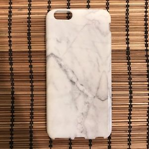 Accessories - Rubber iPhone 6 Plus case. Marble look.