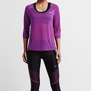 Nike Women's Cool Dri-Fit Running Top, NWT Large
