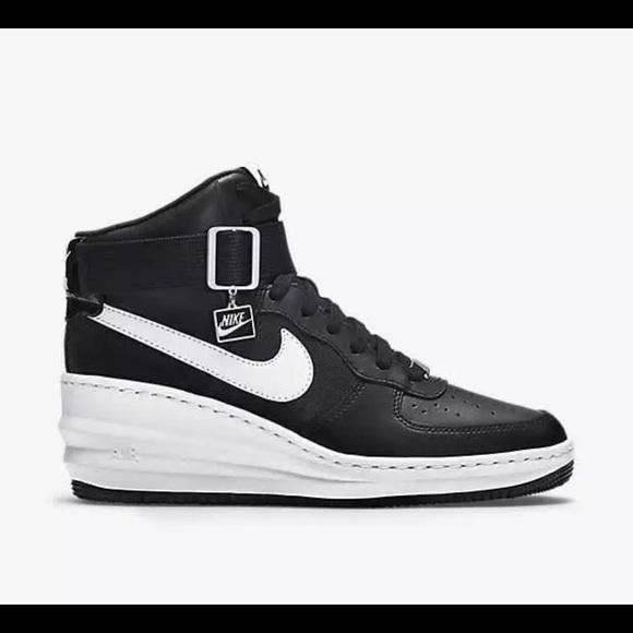 ❤️SOLD Nike Lunar Force 1 Sky Hi wedge sneakers 7