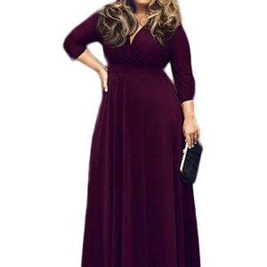 🆕 V-Neck Plus Size Party Maxi Dress 🎉HOST PICK🎉