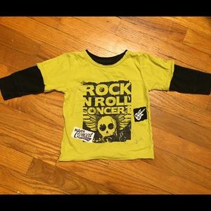 Amy Coe Other - Amy Coe Rock and Roll graphic shirt. Sz 12mo.