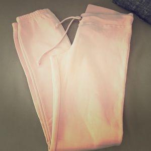 Warm Pale Pink Sweatpants