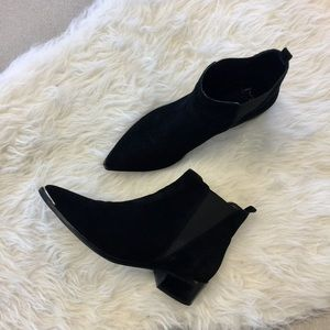 Marc Fisher Shoes - Marc Fisher Black Ankle Booties