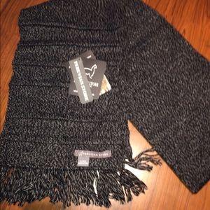Other - New Soft Warm 100% Alpaca hat Grey scarf