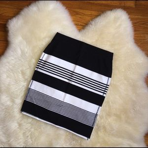 🎉HOST PICK🎉Old navy stripe bodycon skirt size M