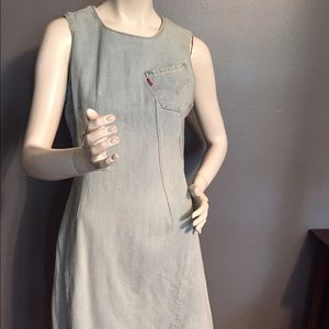 Vintage Engineered Levi's Dress/Red Tab