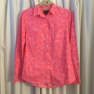 J. Crew Tops - J. Crew Pink Button Down
