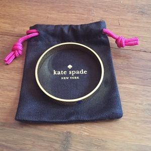 Gold Kate Spade Bangle