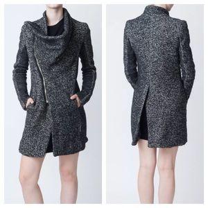 Rick Owens Jackets & Blazers - Rick Owens 'Tokio' Wool Cashmere Blend Coat