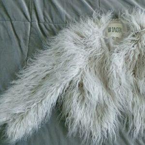 NWT Faux Fur Jacket