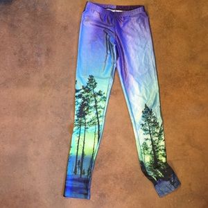 Pants - Tree pattern tights