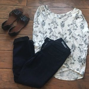 Old Navy floral top