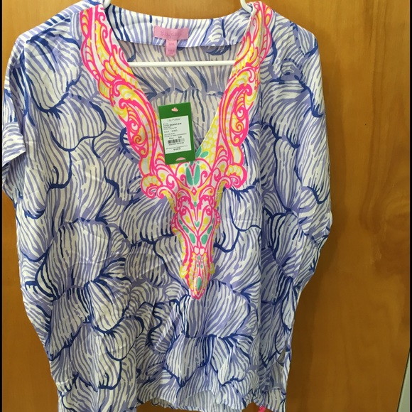 Lilly Pulitzer House 61% off lilly pulitzer tops - lilly pulitzer sydney caftan top